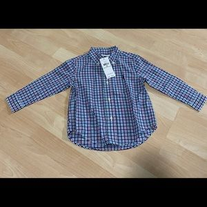 New Polo Ralph Lauren Boys Plaid Oxford Shirt 24M